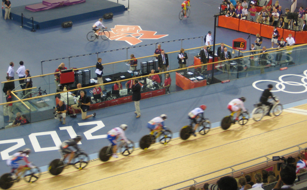 Olympic blog: Emotion at the velodrome