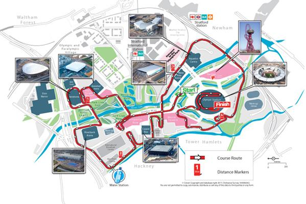 The National Lottery Olympic Park Run Route Revealed