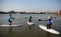 Stand Up Paddleboard fitness