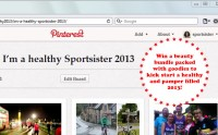 Sportsister Pinterest competition