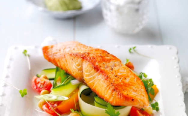 Recipe: Healthy Mexican salmon