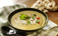 Recipe: Spiced leek, potato & lentil soup