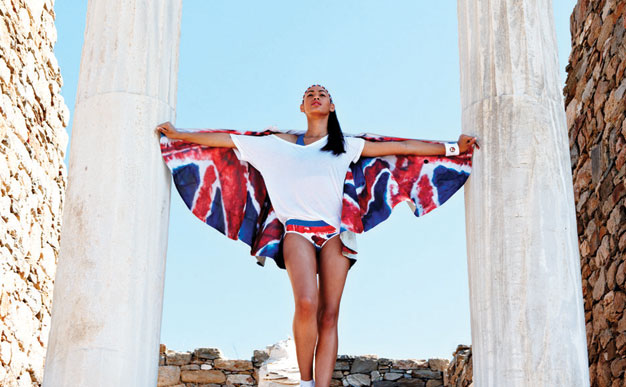 Style file: red, white and blue